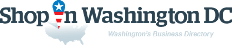 ShopInWashingtonDC. Business directory of Washington DC - logo